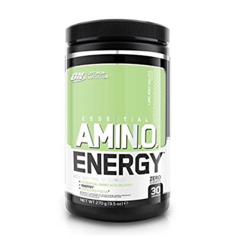 Flacon de 270 g (30 portions) d'acides aminés de la marque Optimum Nutrition, saveur mojito