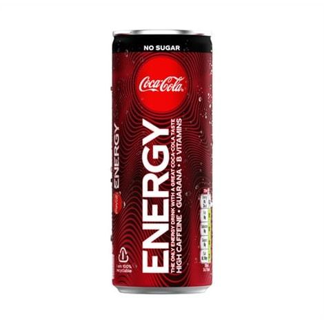 Canette de Coca-cola Extreme Energy Zero de 250 mL