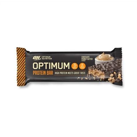 Barre protéinées de 62 g d'Optimum Nutrition, saveur chocolat - beurre de cacahuète