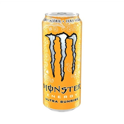Canette de Monster ultra Sunrise