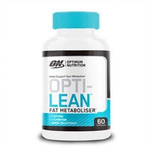 Flacon de 60 capsules d'Opti-Lean de la marque Optimum Nutrition