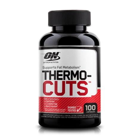Flacon de 100 capsules de Thermo-cuts de la marque Optimum Nutrition