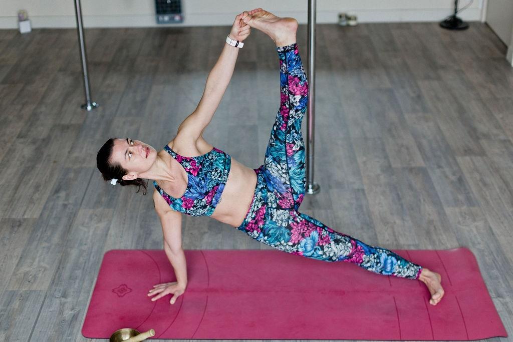 Marie, coach de yoga de La Salle Sports Club