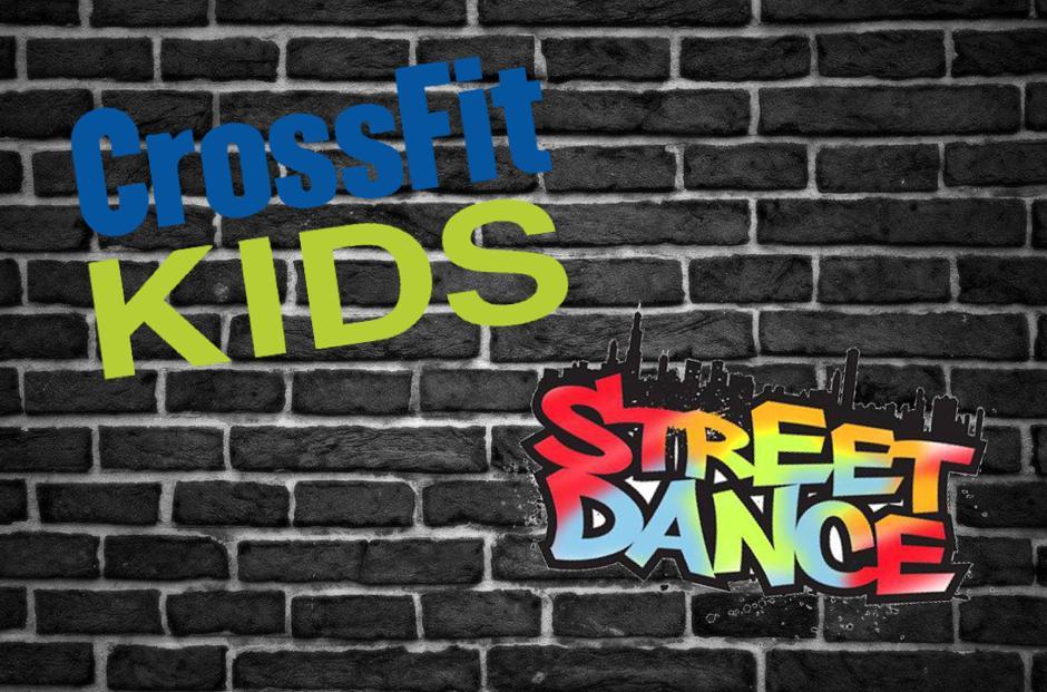Mur tagué : CrossFit Kids et Street Dance