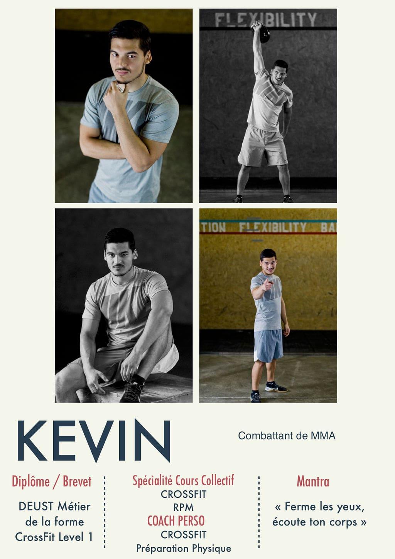 Kévin, coach de la Salle Sports Club