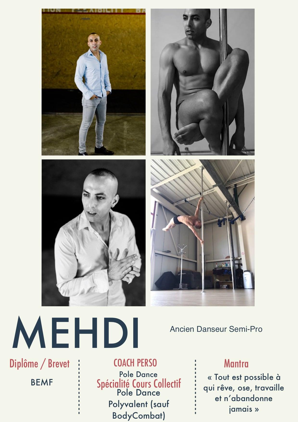 Mehdi, gérant et coach de la Salle Sports Club