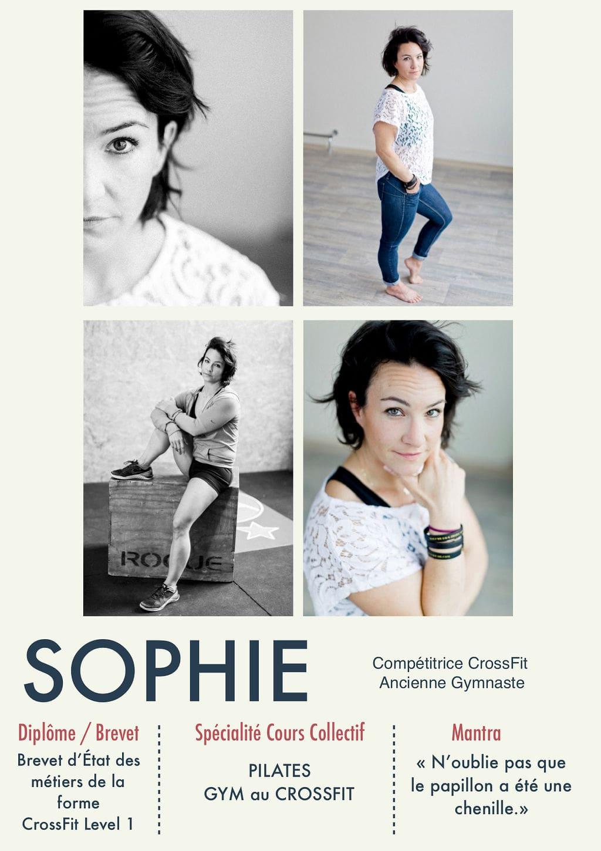 Sophie, coach de la Salle Sports Club