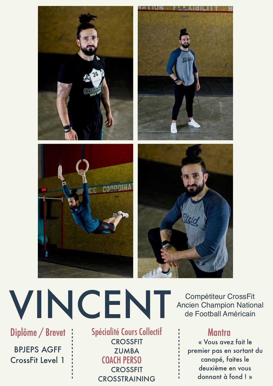 Vincent, coach de la Salle Sports Club