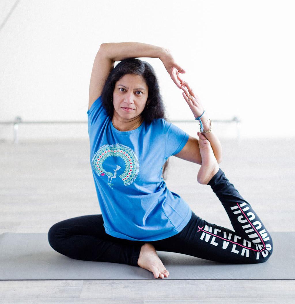 Pradipta, coach de yoga de la Salle Sports Club